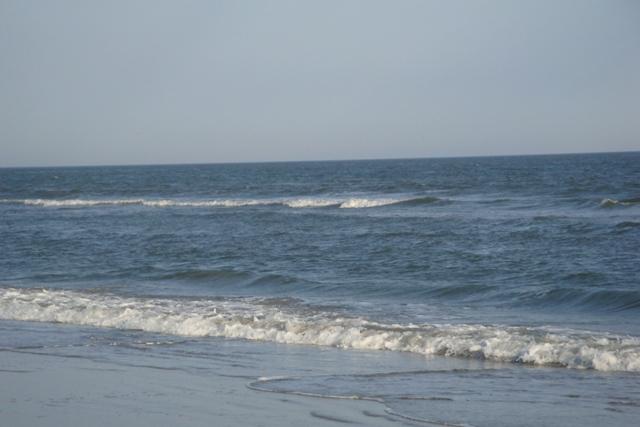 exercise on beach