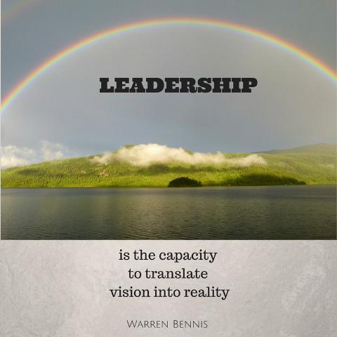 photo credit - Quote: Warren Bennis - Leadership