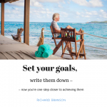 Richard Branson - Goal Setting