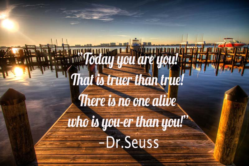 Dr Seuss You are you