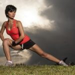leg lunge - exercise